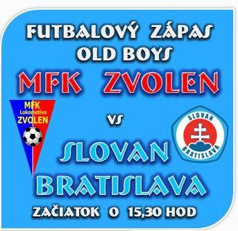 d4189a0e65276 MFK Zvolen | Old boys ZVOLEN privítali Bratislavský SLOVAN